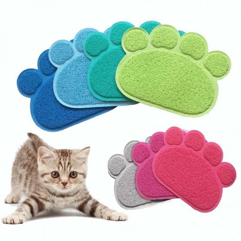 Thảm lót chân chó mèo - hình chân chó