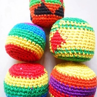 Knitting Ball Sack Toy Recreation Knitting Wool Outdoor