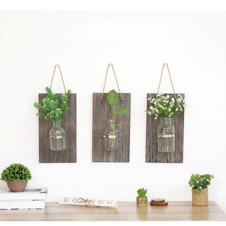 Set 3 retro treo tường bằng gỗ và thủy tinh trang trí décor phòng khách, phòng bếp - 2940004 , 1188624927 , 322_1188624927 , 389000 , Set-3-retro-treo-tuong-bang-go-va-thuy-tinh-trang-tri-decor-phong-khach-phong-bep-322_1188624927 , shopee.vn , Set 3 retro treo tường bằng gỗ và thủy tinh trang trí décor phòng khách, phòng bếp