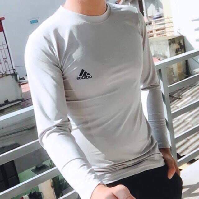 Áo Thun nam dài tay, áo giữ nhiệt nam co dãn 4 chiều Siêu Hót 2020