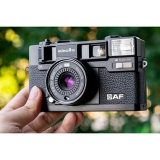 [Sẵn hàng] Máy ảnh film PNS Minolta Hi-Matic AF cực đẹp tặng filter hoặc nắp lens