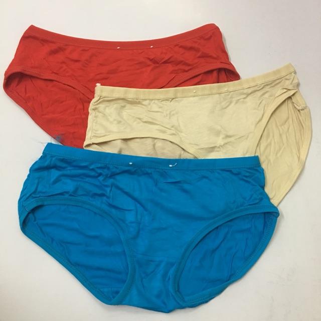Quần lót nữ 10 chiếc quần cotton trơn dưới 55kg
