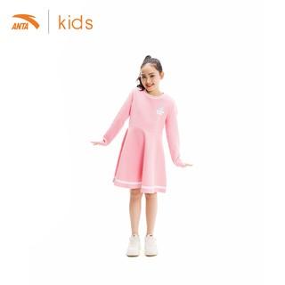 Váy liền dài tay bé gái Anta Kids 362017382-2 thumbnail