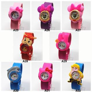 Đồng hồ đeo tay thiết kế hoạt hình dễ thương cho bé