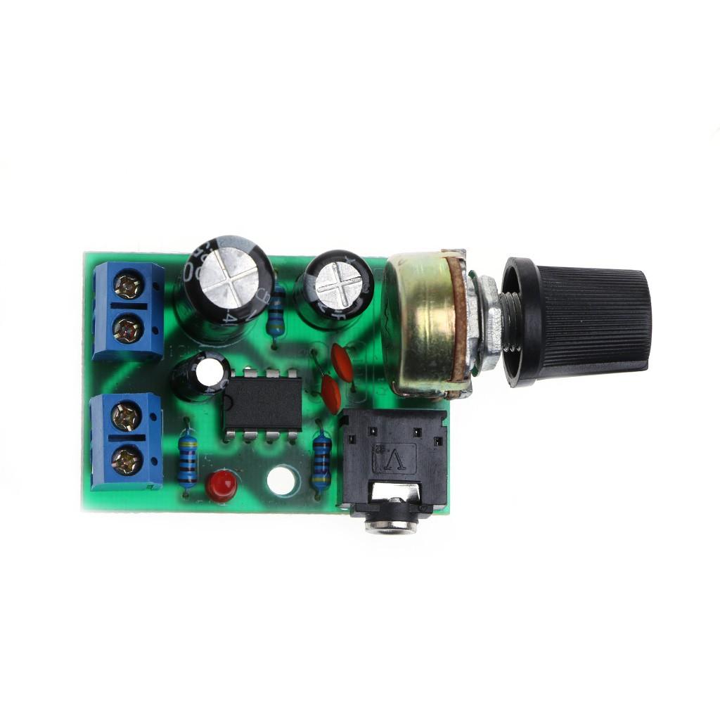 LM386 Mini Audio Power Amplifier Board Adjustable Volume DC 3V~12V 5V Module x 1
