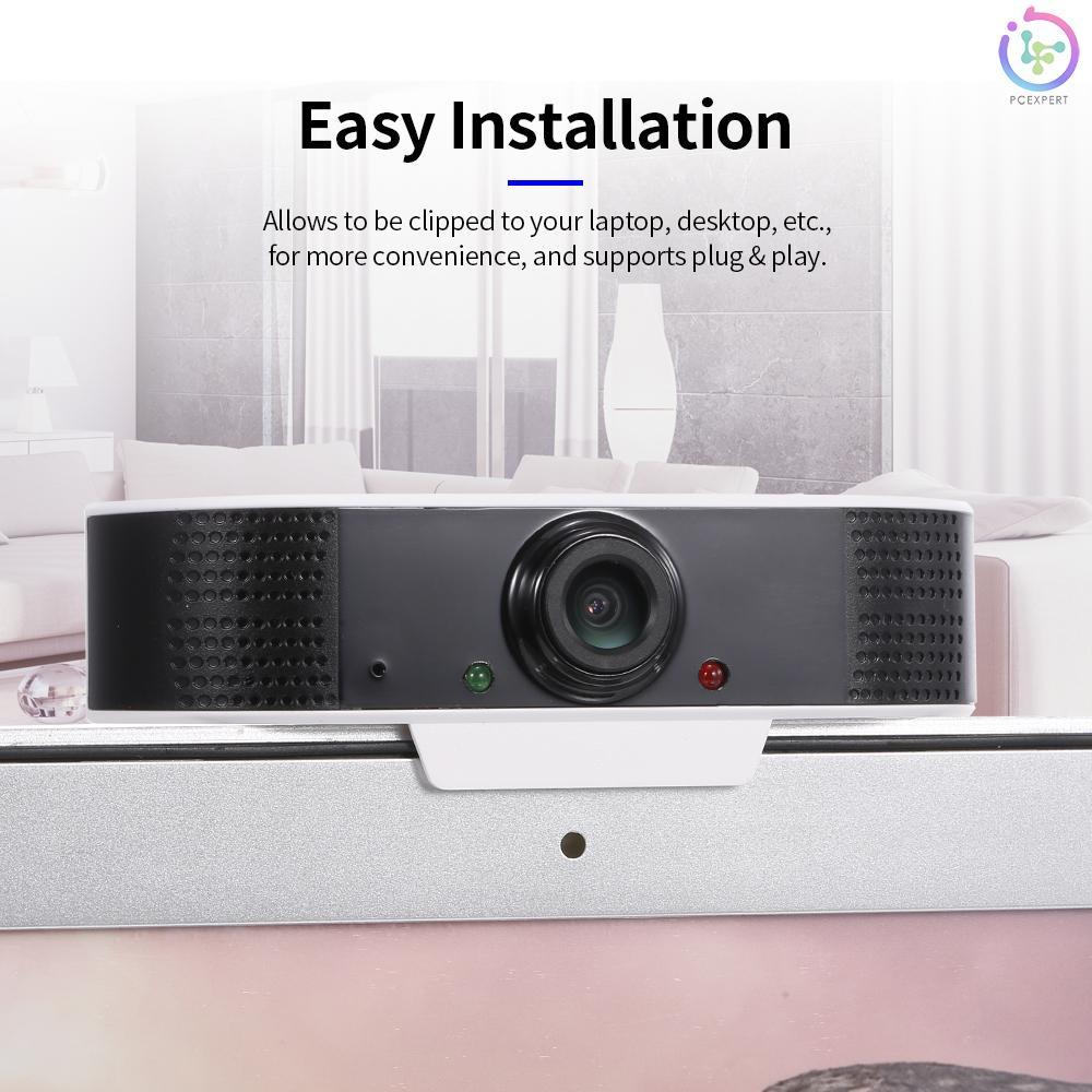 Webcam S2 1080p Siêu Rõ Có Độ Phân Giải Cao Cổng Usb Tích Hợp Micro Cho Máy Tính / Notebook / Laptop