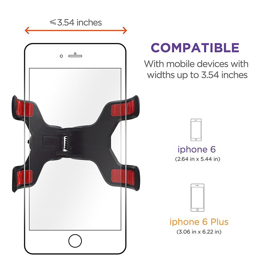 Giá Đỡ Điện Thoại GPS Twitch Có Cốc Hút Kính Chắn Gió Xe Hơi Xoay 360 Độ Tiện Lợi