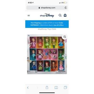 SET ĐỒ CHƠI CÔNG CHÚA DISNEY (13 BÚP BÊ) – Disney Princess Mỹ