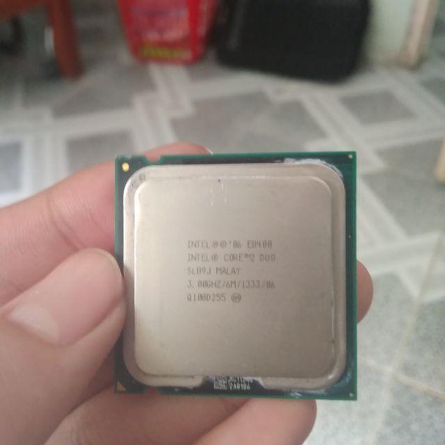 CPU E8400 socket 775