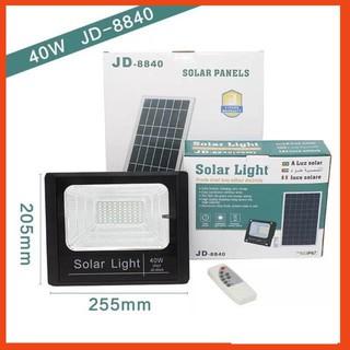 [Hàng loại 1] Đèn pha led năng lượng mặt trời 25W SOLAR LIGHT-JD8825 hiệu năng cao