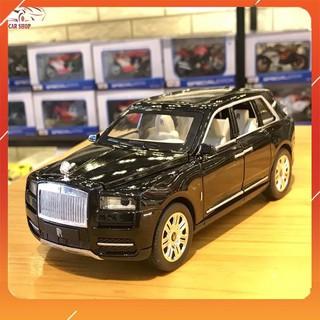 [SIÊU XE] Xe Mô Hình Rolls-Royce Cullinan tỉ lệ 1:24 Màu Đen