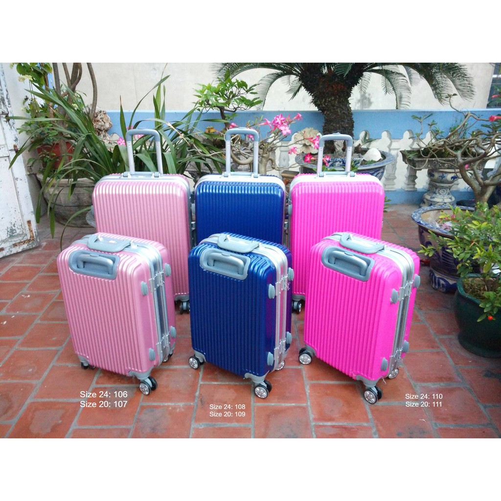 Vali khung nhôm khóa sập - V9 - Size 20 và Size 24 - Xanh thẫm/hồng nhạt/hồng tươi - 2917938 , 1031625637 , 322_1031625637 , 800000 , Vali-khung-nhom-khoa-sap-V9-Size-20-va-Size-24-Xanh-tham-hong-nhat-hong-tuoi-322_1031625637 , shopee.vn , Vali khung nhôm khóa sập - V9 - Size 20 và Size 24 - Xanh thẫm/hồng nhạt/hồng tươi