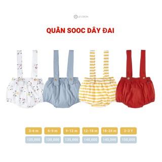 LE COON | Quần Sooc Dây Đai | COOL
