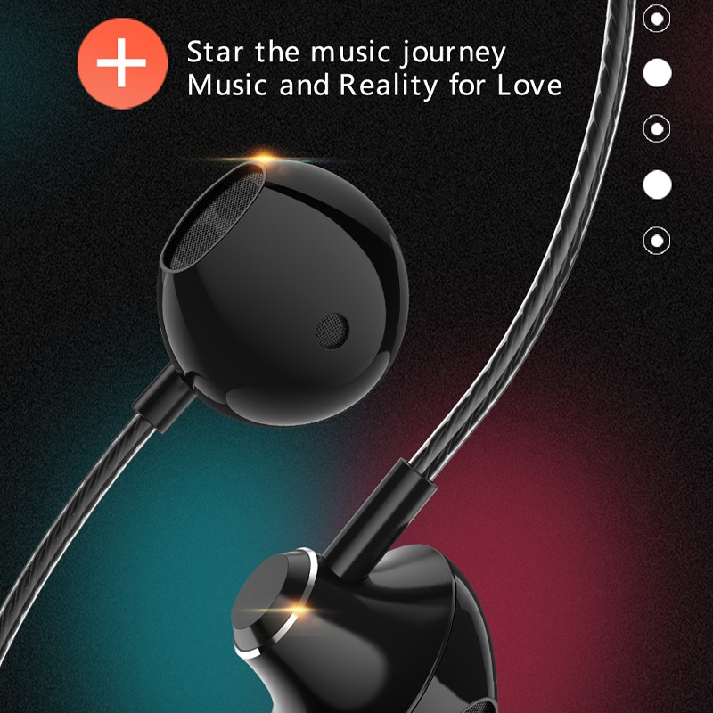 Tai nghe KCO D31 chống ồn tích hợp mic hỗ trợ rảnh tay cho iOS Android