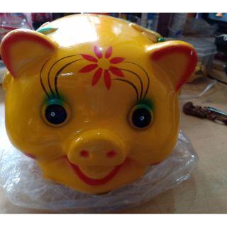 Heo đất tiết kiệm – Ống heo(lợn) bỏ tiền ( loại nhỡ)