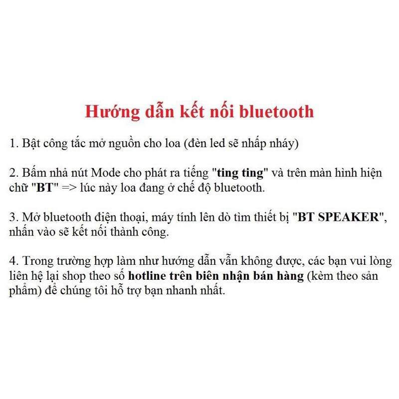 [GIÁ SIÊU RẺ] Loa bluetooth Tika B408/ms202
