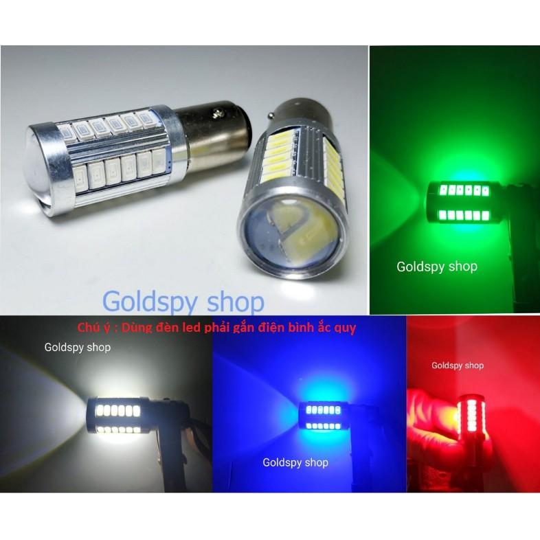 Đèn led hậu xe máy siêu sáng ( giá 1 cái)