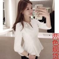 áo thun nữ dài tay chất liệu cotton - 14083052 , 2298262942 , 322_2298262942 , 232300 , ao-thun-nu-dai-tay-chat-lieu-cotton-322_2298262942 , shopee.vn , áo thun nữ dài tay chất liệu cotton