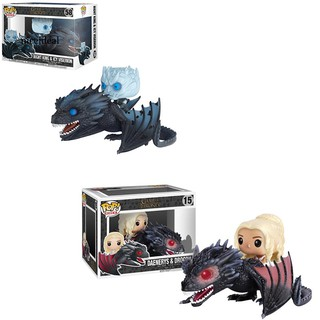 ✲Nd PVC Game of Thrones Daenerys Drogon Night King Doll Action Figures Funko Toy