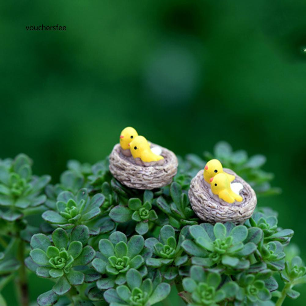 Phụ kiện chim giả trang trí tiểu cảnh