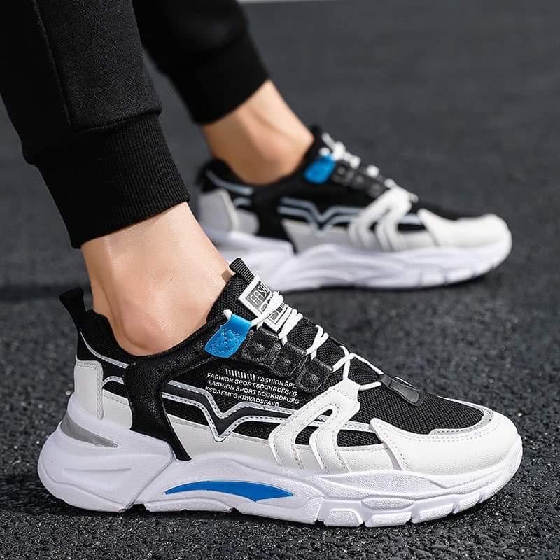 (Có 2 Màu)Giày nam thể thao đế độn NewVesion 2 màu cực chất siêu ngầu