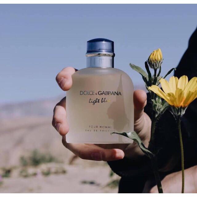 Nước hoa nam Dolce & Gabbana Light Blue Pour Homme EDT (Mini 4.5ml) - Nước  hoa nam Nhãn hiệu DOLCE & GABBANA | MuaDoTot.com