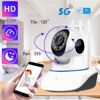 Camera An Ninh 2.4g & 5g Wifi Ip 1080p 2mp Hd