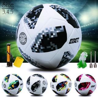 Quả Bóng Đá WorldCup Số 3 4 5 CP02 Đủ Size Trẻ Em Và Người Lớn, Bóng đá Ebet Động lực nhập khẩu và phân phối thumbnail