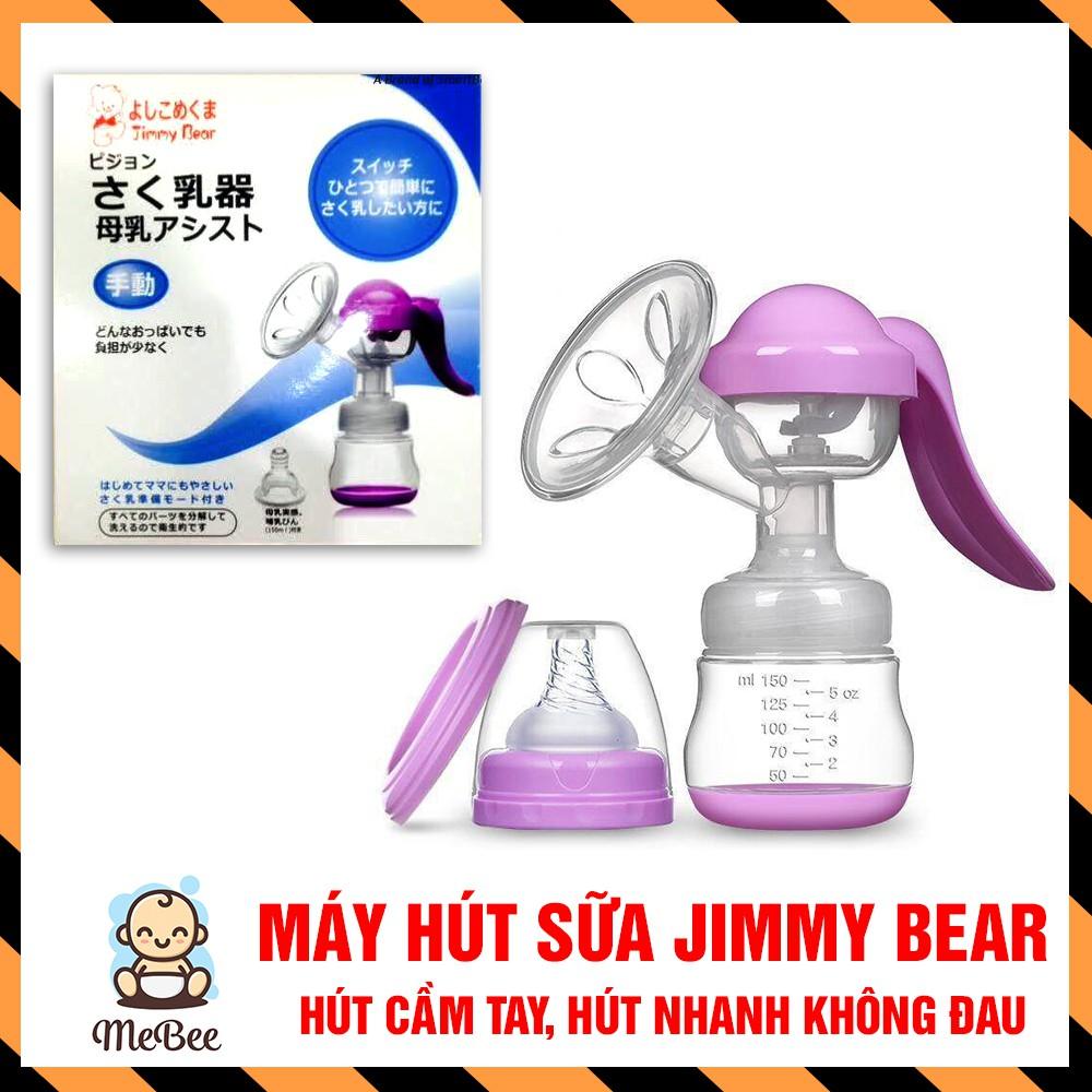 Máy hút sữa cầm tay Jimmy Bear hàng Nhật Bản