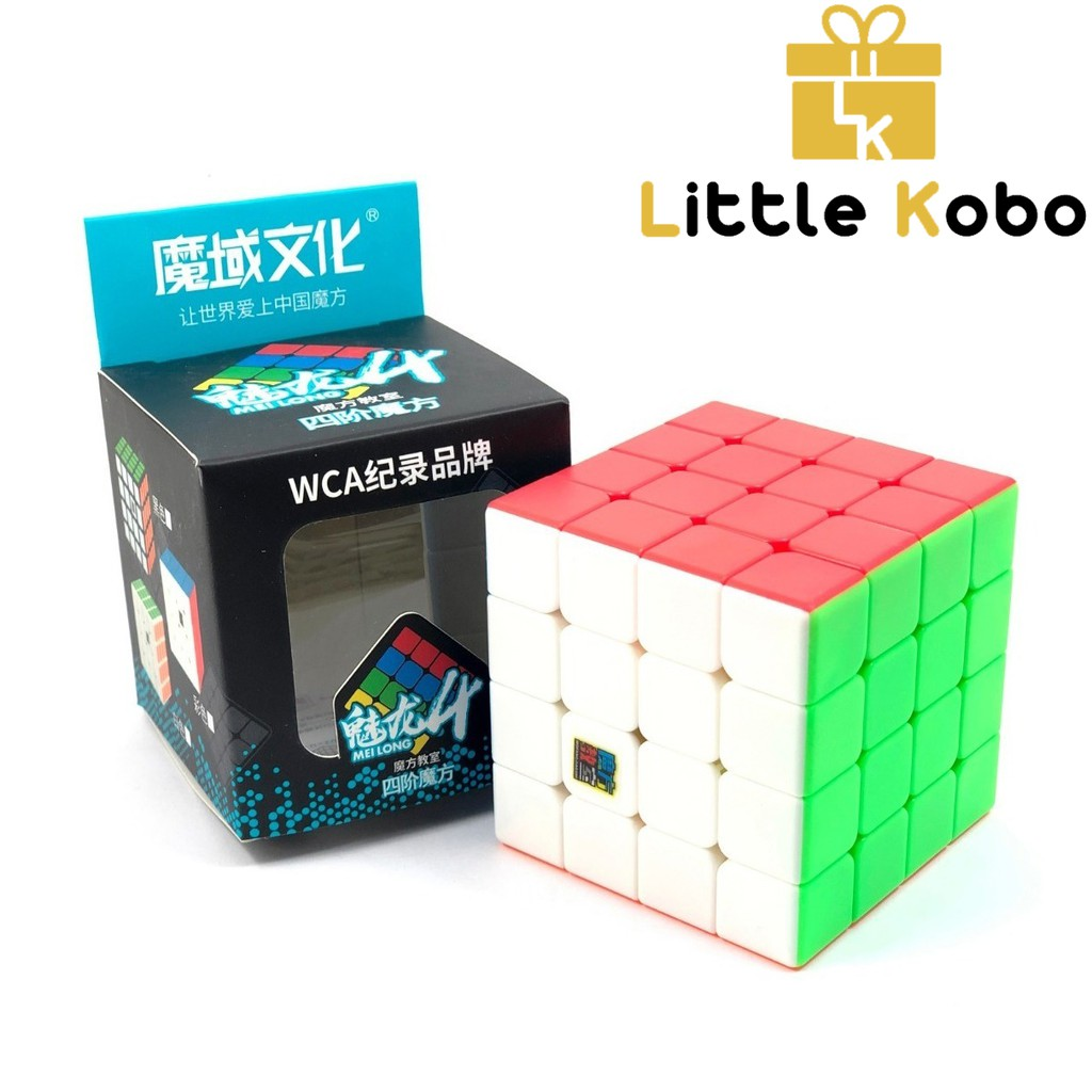 Rubik 4×4 Stickerless MoYu MeiLong MFJS Rubik 4 Tầng