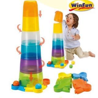 Tháp cốc xếp chồng bằng nhựa Winfun 0737