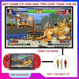 Máy Chơi Game Nitendo X7, Tặng Thẻ 8gb VàTặng Tai Nghe Máy Có Sẵn 9000 Trò Chơi GBA - SNES - GBC - PSP - 2021 thumbnail