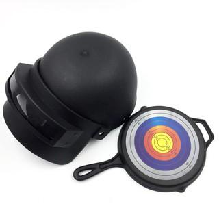 Mũ 3 PUBG big size , Tặng kèm chảo (đồ hóa trang)