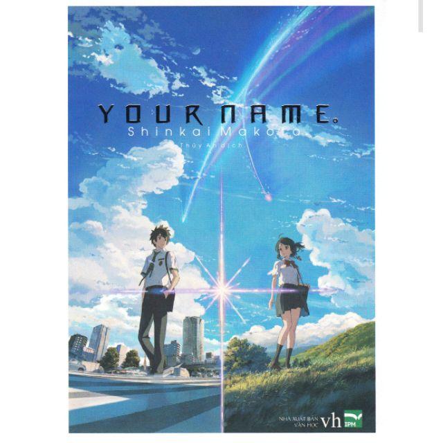 Sách - Light Novel - Your Name