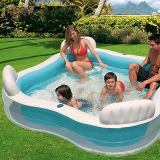 Bể bơi intex 56475 tặng kèm bom điện & phao tập bơi cho bé