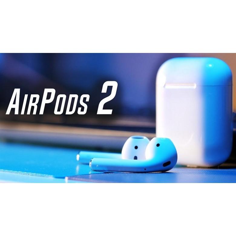 Tai Nghe Airpods 2 Bluetooth Định Vị Đổi Tên - Tháo Tai Tắt Nhạc