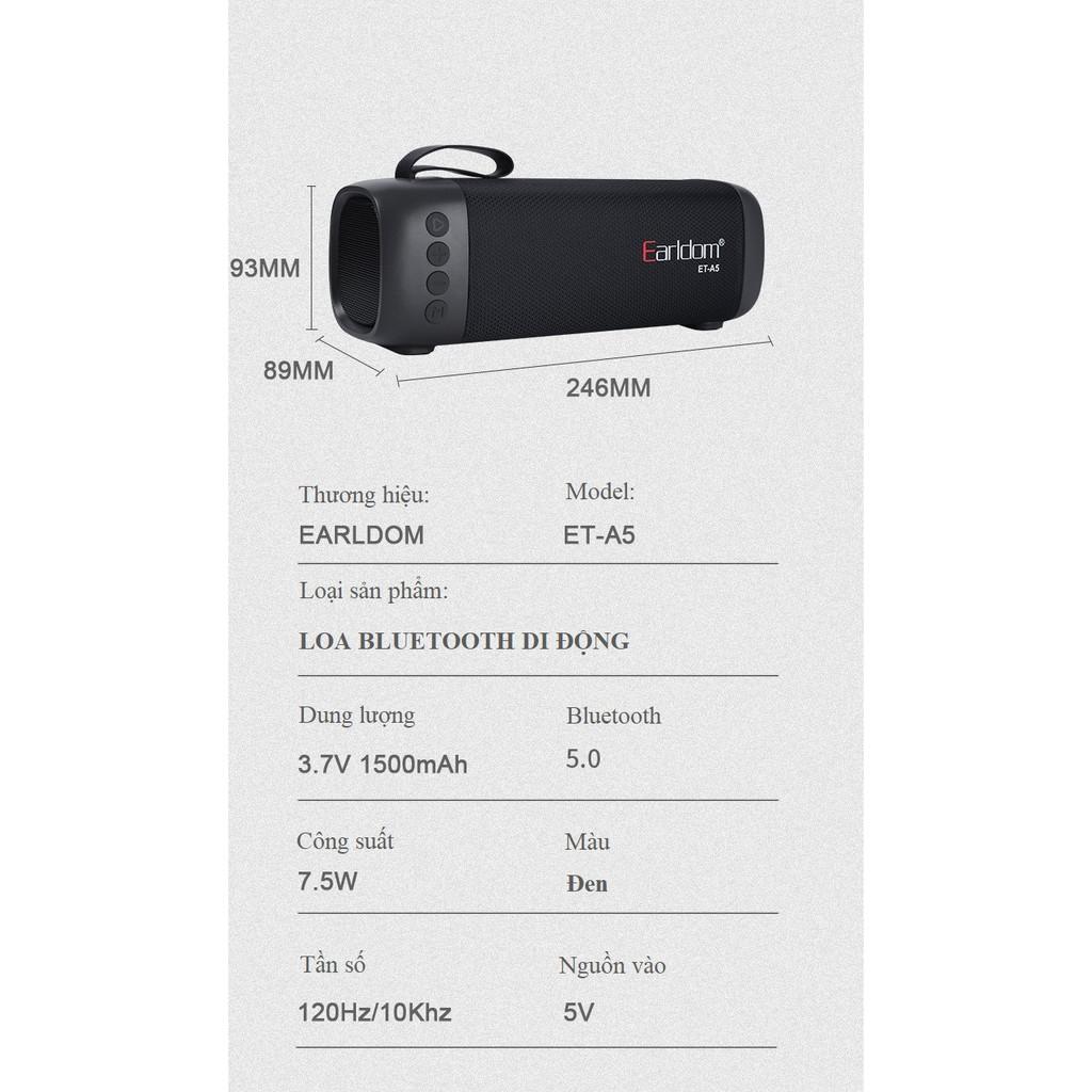 Loa blt chính hãng  Nghe nhạc liên tục 5 tiếng  Loa bluetooth âm thanh vòm HIFI 360 độ