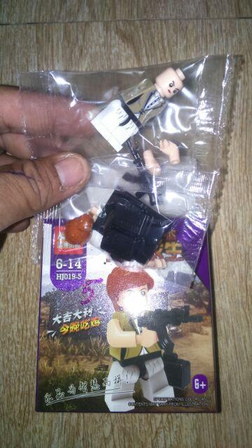 Lắp ráp 8 hộp Lego đột kích HJ019 trọn bộ