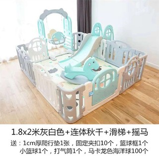 quây cũi holla combo 7 món làm từ nhựa nguyên sinh an toàn cho bé
