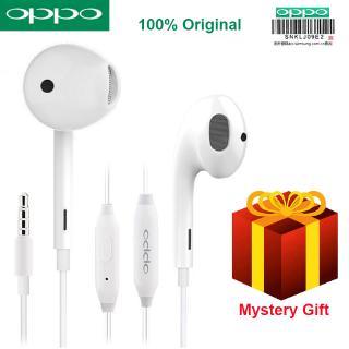 Tai nghe nhét tai Oppo R11 giắc cắm 3.5mm cao cấp tiện dụng