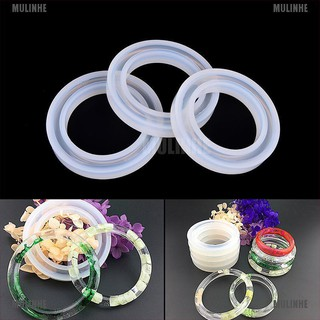 Silicone Mold Casting Mould For Resin Bangle Bracelet Jewelry Making DIY Tools [MULINHE]