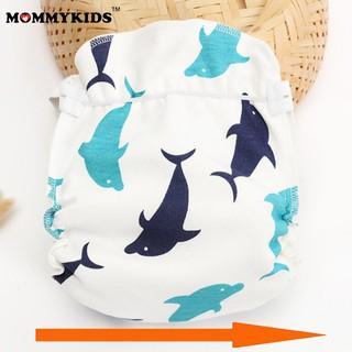 Combo mua 10 tặng 2 Bỉm Vải, Tã Vải Mommykids chống hăm – Freesize cho bé 1-24 tháng