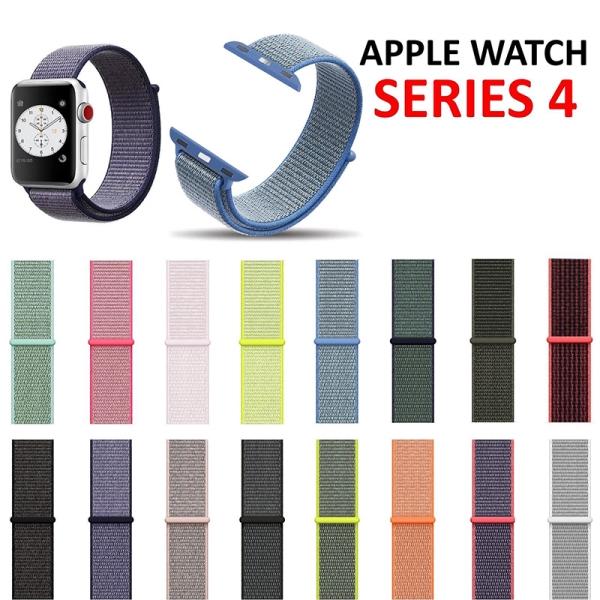 Dây nylon từ tính thay thế cho đồng hồ thông minh đeo tay Apple Watch 4 40mm/44mm