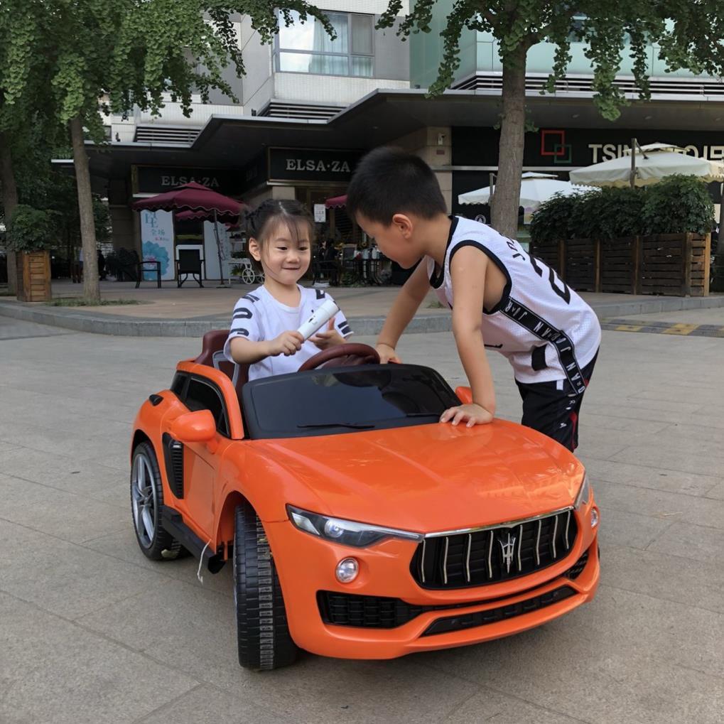 Siêu Ô tô xe điện đồ chơi vận động cho bé KUPAI 2021 4 động cơ 0976200898