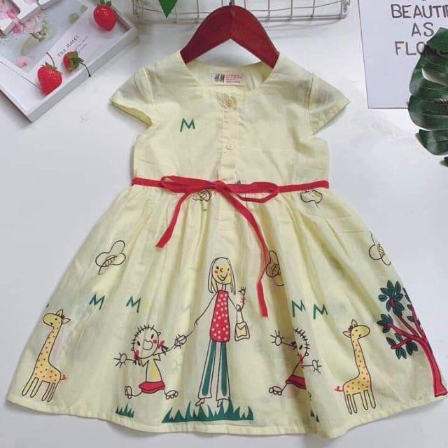 Váy bé gái 1 bao quyên T1049