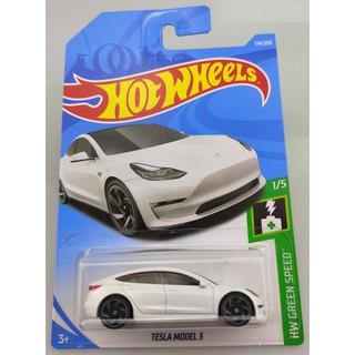 Xe mô hình Hot Wheels Tesla Model 3 FYB50