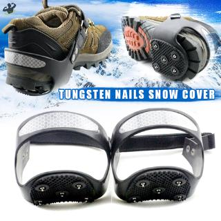 LL Outdoor 5-teeth Heel Claw Crampons Ices Snow Anti-Slip Shoe Grip Spike @VN