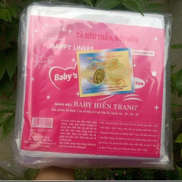 10 gói lót phân su Hiền Trang