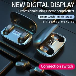 Tai Nghe Nhét Tai Pk Topk T10 2020 Kết Nối Bluetooth V5.0 9d Có Đèn Led Chống Nước Ipx7 Và Phụ Kiện