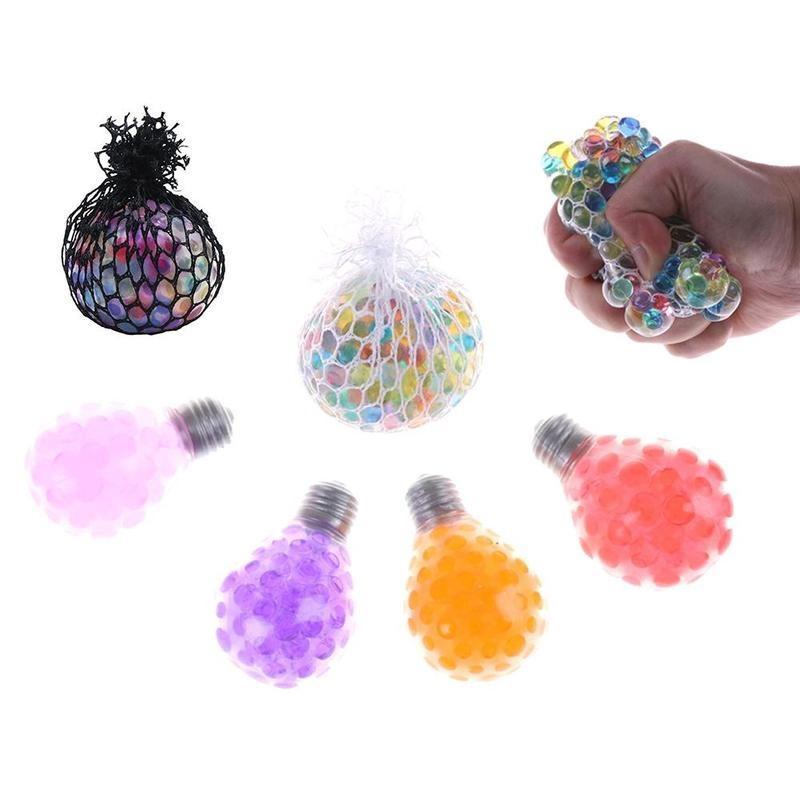 Squishy Mesh Anti Ball Balls Stress Multi Rubber Vent Color
